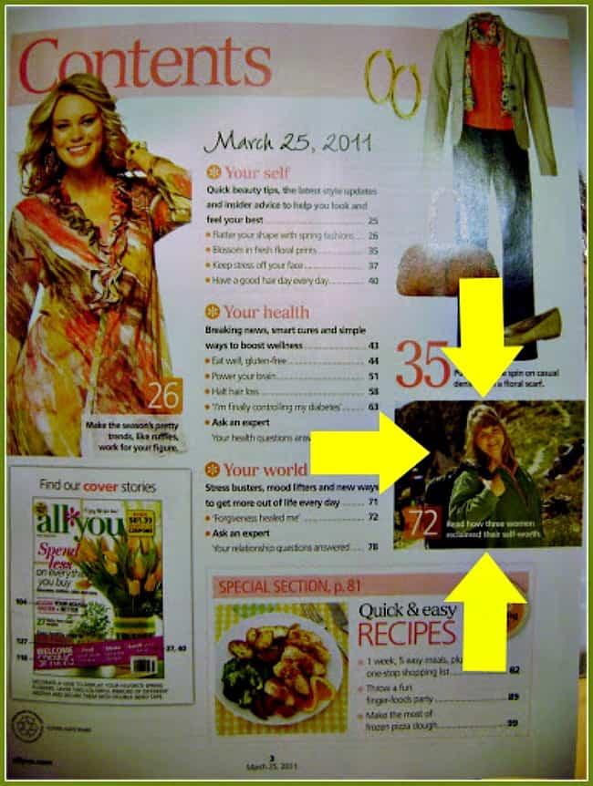 Julee Morrison all you magazine