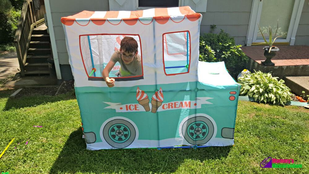 antsy pants ice cream truck serving ice cream
