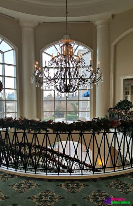 ballantyne hotel chandelier