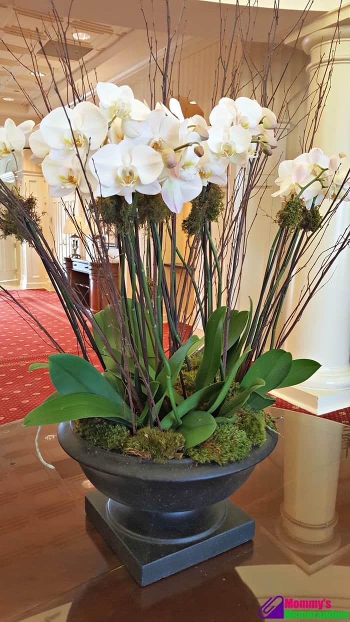 ballantyne hotel fresh flowers