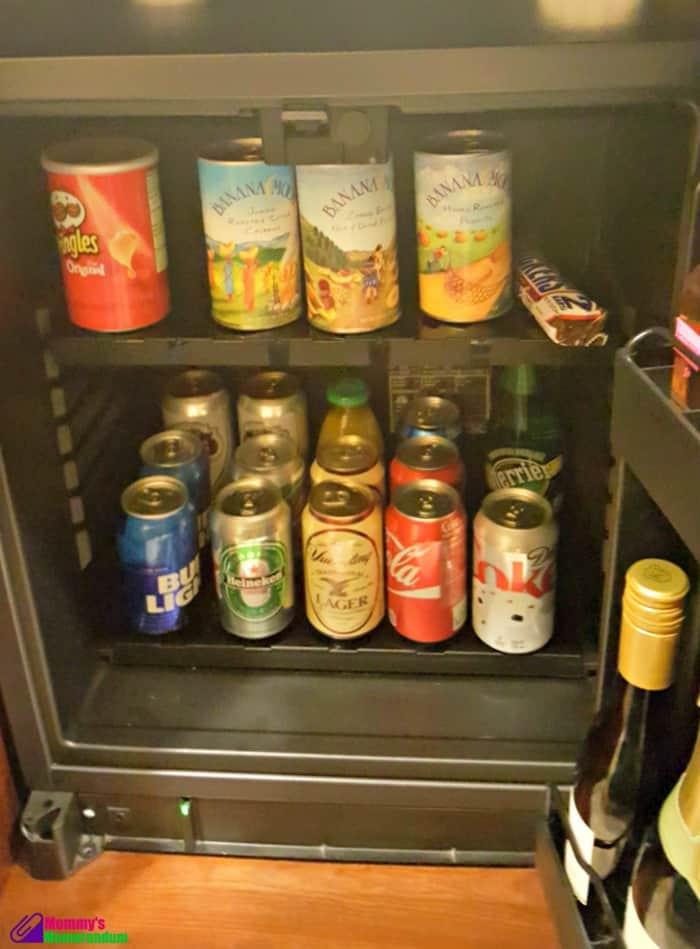 ballantyne hotel mini fridge