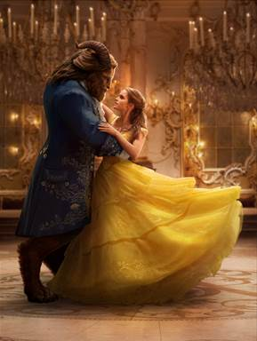 Image result for beauty and the beast 2017 dance