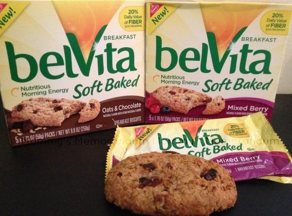 belVita soft baked breakfast biscuits