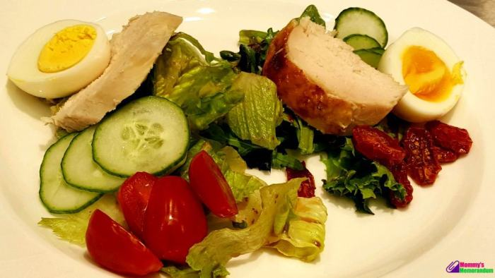 beneful-split-salad-with-oven-dried-tomatoes-and-quick-pickles