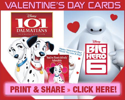 big hero 6 and 101 dalmatians valentine printables