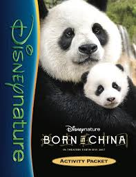 FREE Printable #BornInChina Activity Guide