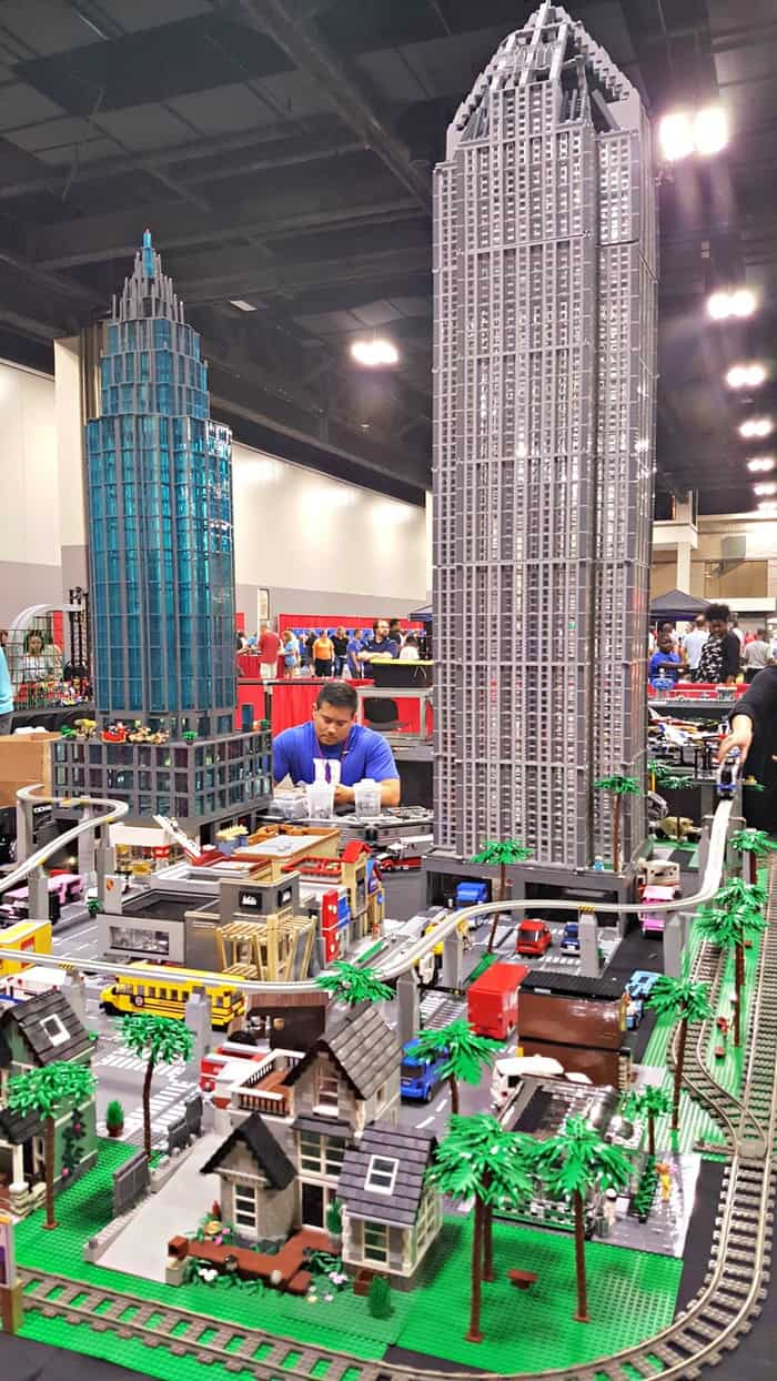 brickfest row houses and tall building