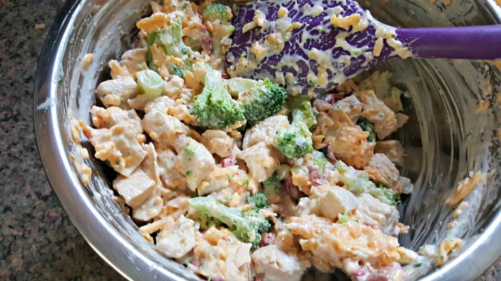 broccoli cheese chicken bake filling