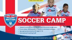 Register for 2018 British Soccer Camp!