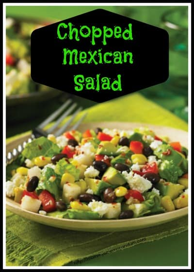 Chopped Mexican Salad (page 108)