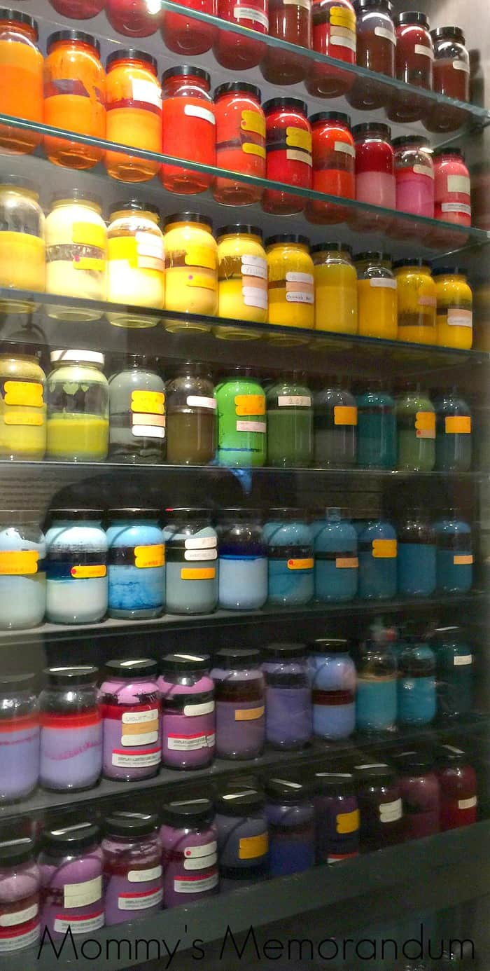 color at the Walt Disney Family Museum