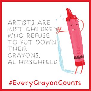 crayons-postcard