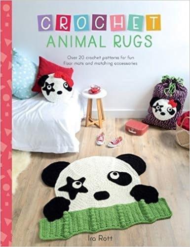 crochet animal rugs by ira rott