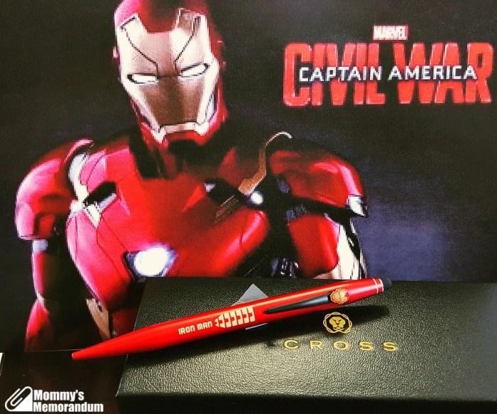 cross pens iron man