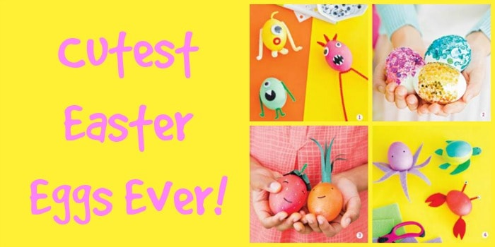cutest easter eggs ever Collage