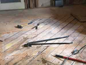 Fixer Upper: Kitchen Floor Removal Day 7