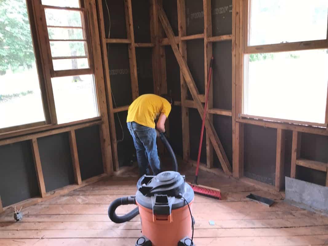 dad's house home remodel rigid vacuum
