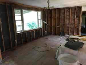 Fixer Upper: Living Room, Hall and Front Bedroom Demolition Day 4