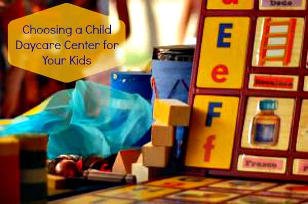 Choosing a Child Daycare Center for Your Kids: 5 Major Considerations