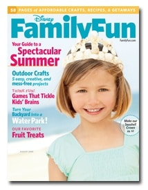 Disney's FamilyFun Magazine