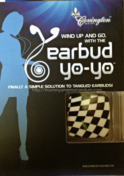 earbuds organizer earbud yoyo