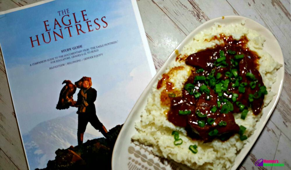 easy instant pot mongolian beef recipe goes perfect with watching The Eagle Huntress