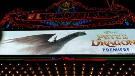 el capitan theatre world premiere disney's pete's dragon