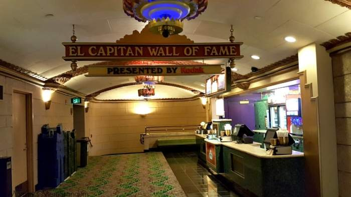 el capitan wall of fame
