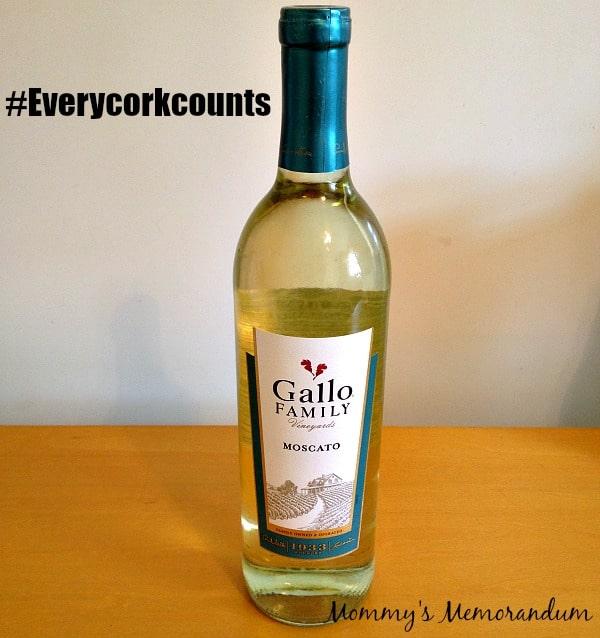 #everycorkcounts gallo family wine