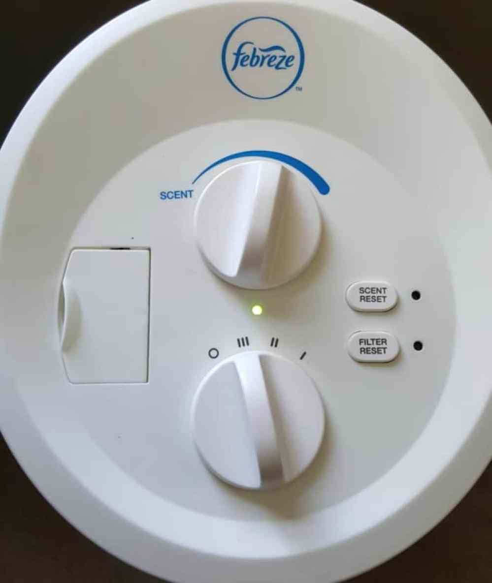 febreeze air purifier scen control