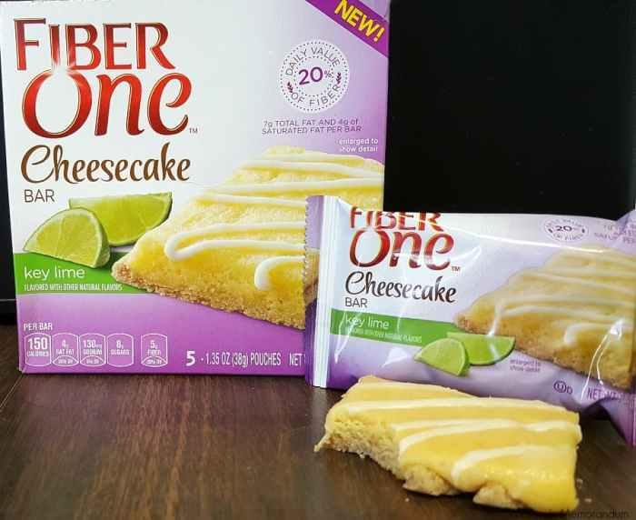 fiber one cheesecake key lime