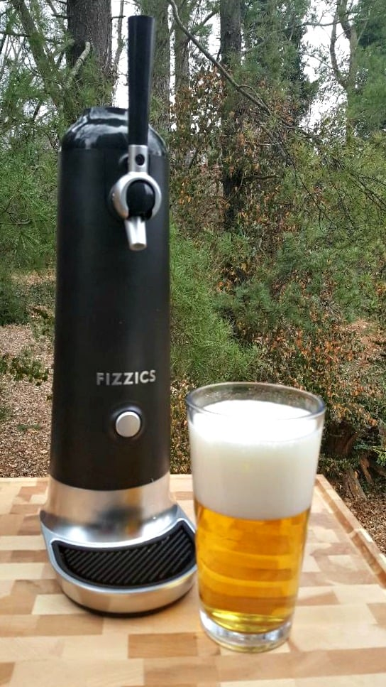 fizzics and finished beer.