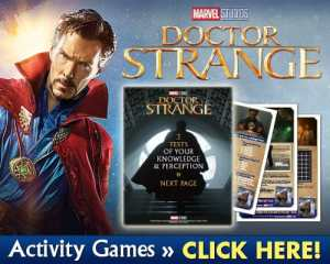 Free Printable Dr Strange Activity Sheets