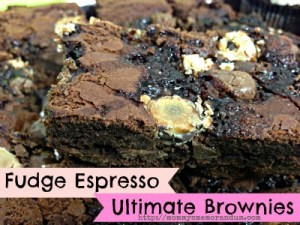 fudge espresso ultimate brownies recipe