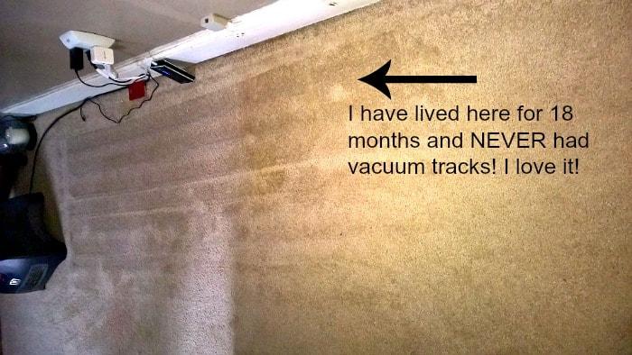 genesis 950 vacuum tracks