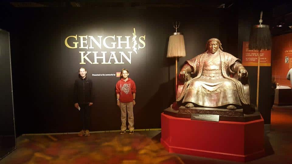 genghis khan exhibit charlotte