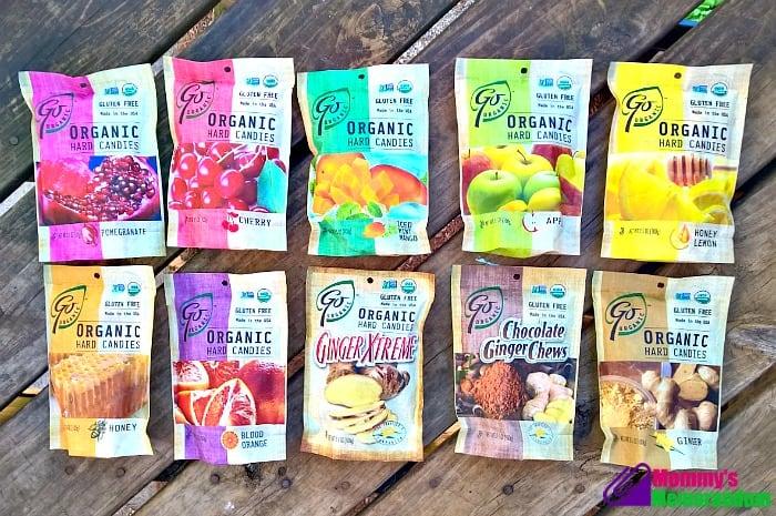 goorganic hard candies