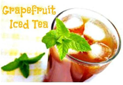grapefruit iced tea #Recipe