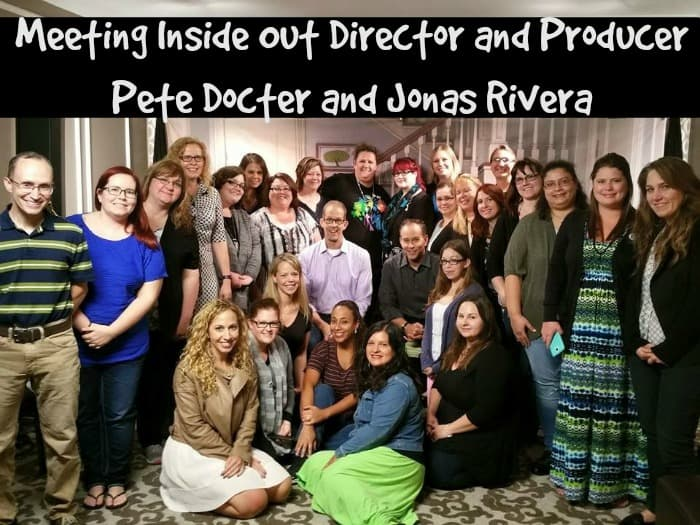 group photo with pete docter and jonas rivera