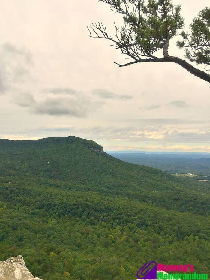 hanging rock scenic view