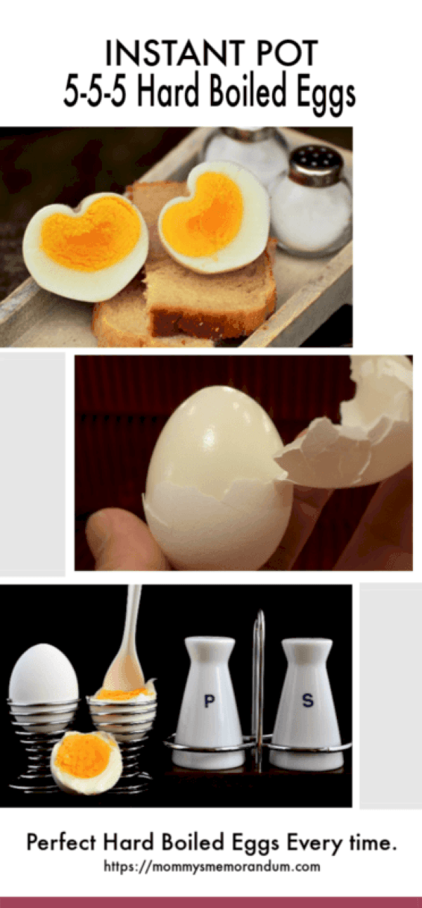 Perfect Hard Boiled Eggs in the Instant Pot.