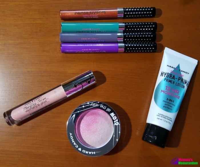 hard candy make up collection