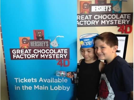 hershey chocolate 4d show