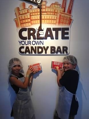 hershey create your own candybar
