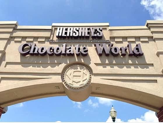 hershey's chocolate world bridge