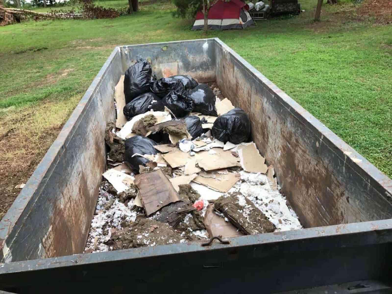 home remodel dumpster