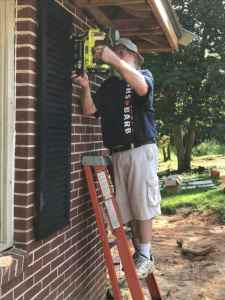 Home Remodel: Shutters Going Up with RYOBI Airstrike