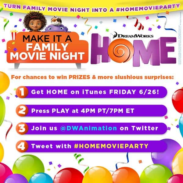 home twitter party