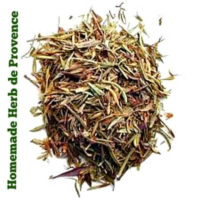 homemade herb de provence Recipe