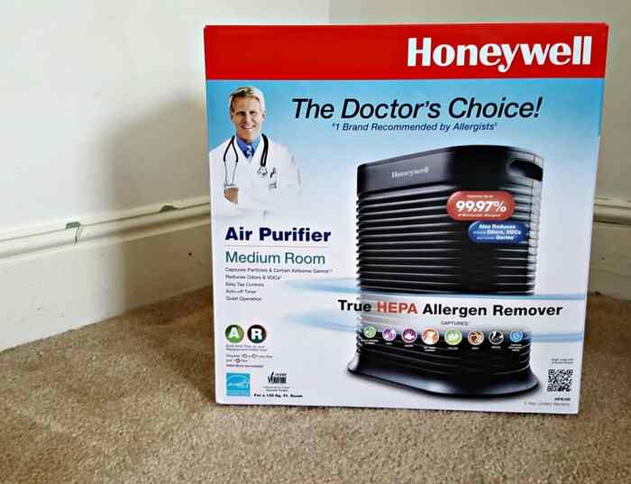 honeywell hpa300 review in box
